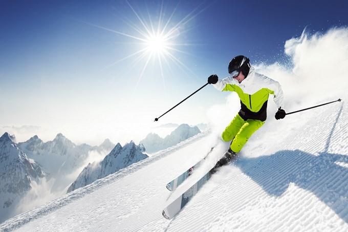 Mes vacances au ski.