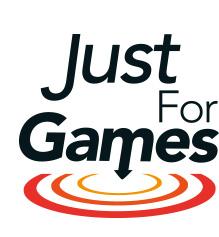 logo justforgames
