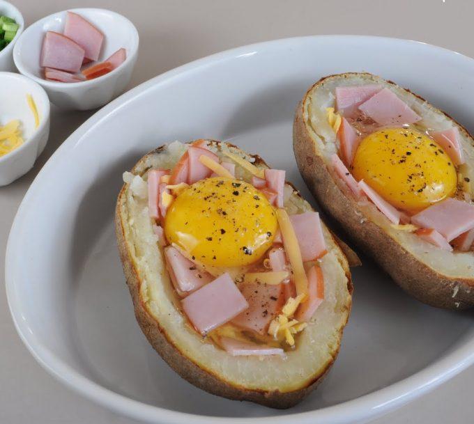 Pomme de terre au four : avec un peu de crème et de persil, c'est délicieux