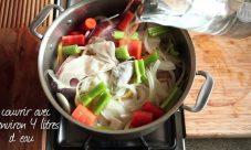 Comment faire un court bouillon de poisson ?